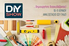 DIY Show: Ένα διαφορετικό show παρουσίασης ειδών χειροτεχνίας και DIY κατασκευών, από μεγάλες εταιρίες του χώρου, με εκδηλώσεις, επιδείξεις, εφαρμογές