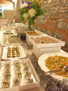 Buffet a cura di Riso e Risa, presso Corte Dei Paduli - Wedding Location - Reggio E., Italy. www.deipaduli.org