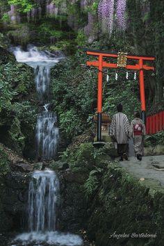 Matsunoo-taisha santuario Sintoista en Prefecture, Kyoto, Nishikyo Wars, Arashiyama Miyamachi