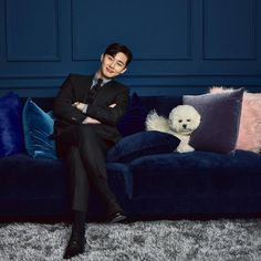 'What's Wrong With Secretary Kim' Park Seo-joon Poses With a Handsome Furry Friend Witch's Romance, Park Min Young, Korean Celebrities, Korean Actors, Korean Dramas, Celebs, Park Seo Joon, Yoo Seung Ho, W Two Worlds