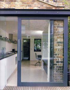 Large exterior sliding door