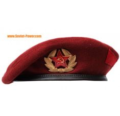 Legendary maroon beret hat is by Special Units of Interior Ministry Troops, by Russian special forces and elite MIA Spetsnaz units. Crane, Military Beret, Russian Hat, Army Surplus, Tactical Clothing, Leather Hats, Hat Sizes, Military Fashion, Comfortable Outfits