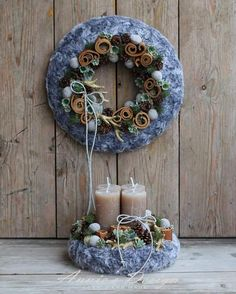 Winter Christmas, Christmas Ideas, Merry Christmas, Grapevine Wreath, Grape Vines, Wreaths, Pure Products, Garden, Floral