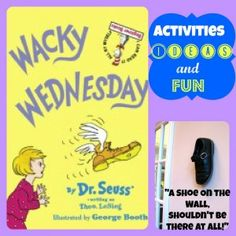 Activities for Celebrating Dr. Seuss with Wacky Wednesday #drseuss #drseussbirthday