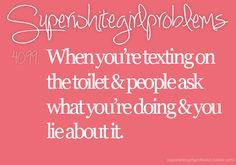 Super White Girl Problems #4099