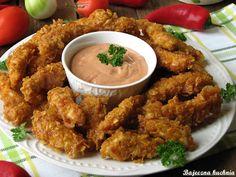 Bajeczna Kuchnia: Chrupiące kąski z kurczaka