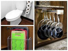 Genialne pomysły na przechowywanie rzeczy w domu, dzięki którym zapanuje w nim porządek