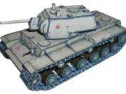 World of Tanks - KV-1 Heavy Tank Ver.4 Free Paper Model Download