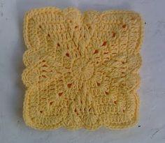 Free Crochet Subtle Hearts Hot Pad Pattern.