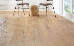 Wide Plank Solid Wood Flooring - Therefore you're currently currently trying to choose what sort of flooring to choose out White Oak Laminate Flooring, Wood Plank Flooring, Light Hardwood Floors, White Oak Floors, Engineered Wood Floors, Flooring Ideas, Kitchen Flooring, Diy Design, Maple Floors