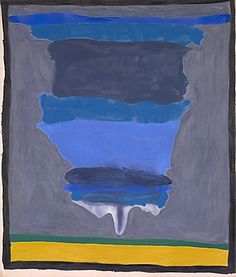 Helen Frankenthaler. Cape (Provincetown), 1964. Synthetic polymer paint and resin on canvas