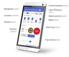Android app ArduinoTrain BtControl Pro