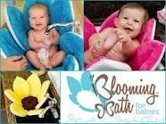 Bathtub for babies & new infants: blooming bath