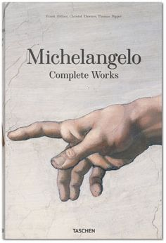 Commemorating the 450th anniversary of Michelangelo's death, this scientifically updated edition offers a complete analytical inventory of his painting, sculpture, building and drawing as well as a rich biographical essay discussing the previously under-explored personal traits. The edition's slipcase converts into abook stand, so you can delight in the book on display.. Published by TASCHEN Books