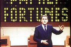 Bob's Your Uncle! Bob Monkhouse, what a great presenter he was!