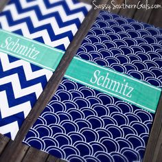 Personalized Beach Towel on www.SassySouthernGals.com - Monogrammed Gifts & Accessories