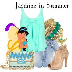 """Jasmine in Summer"" by agust20 on Polyvore"