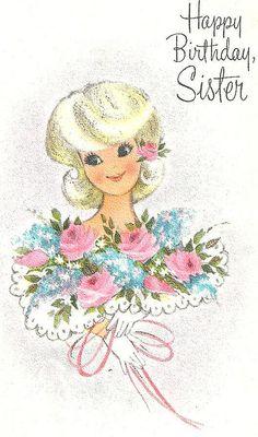 Birthday Card, 1966. | Flickr - Photo Sharing!