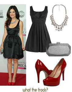 What the Frock? - Affordable Fashion Tips and Trends: Celebrity Look for Less: Lucy Hale Style