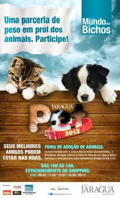 Neste sábado (13), das 10h às 14h, no estacionamento Shopping Jaraguá Araraquara.