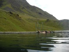 Seljavellir abandoned geothermal pool, South Iceland