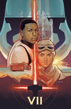 Fan Art posters made within days of the release of the teaser trailer for Star Wars VII: The Force Awakens