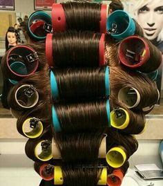 Perm Rods, Roller Set, Curlers, Beauty Shop, The Good Old Days, Childhood, Shops, Good Things, Woman