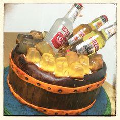 Torta Barrica para el cumple 17 de mi sobrino!