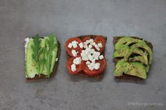 toasts for breakfast