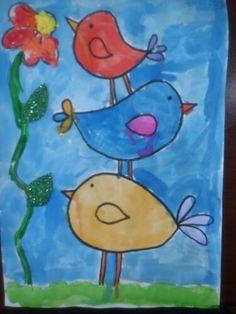 Sulu boya çalışması