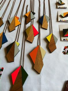 Minnen Geometric Jewelry, my favourite.