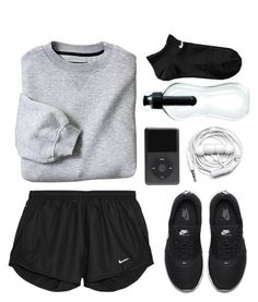 """Без названия #58"" by sakhayaana ❤ liked on Polyvore featuring NIKE and Urbanears"