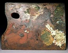 The Degas palette above is from earlier in his career, when he was still using the earthy tones common to the Dutch tradition. It lightened considerably in later years as his subject matter altered.