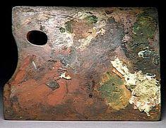 Des palettes de peintres célèbres palette peintre DEGAS histoire featured design art