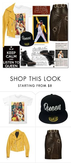 """""""I Am With the Band: Listen to """"Queen"""""""" by vittorio-1 ❤ liked on Polyvore featuring Lovers + Friends, Balenciaga and Chanel"""