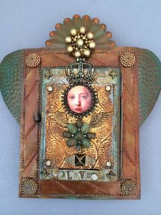 Tin Nicho Shrine by LaurieMika on Etsy