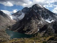 Granite Peak, Montana  ..been up to the snowbridge three times before I was 18.. time to summit.