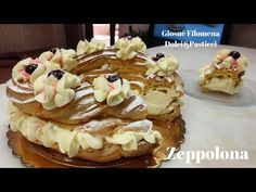 Zeppolona - YouTube Paris Brest, Italian Cake, Special Occasion, The Creator, Hobby, Youtube, Desserts, Cakes, Food