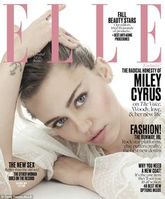 Low-key: Miley painted a laid-back picture of her life with Liam as she joked…