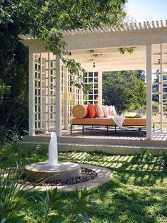 Top 60 Best Pergola Ideas - Backyard Splendor In The Shade