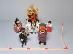宇久島神社大祭 獅子舞・天狗・神輿