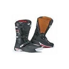 Bottes Tout terrain TCX Comp-kid Noir - Speedway #bottes #Speedway #enfant #moto #noir #motocross