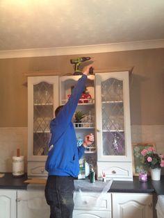 Kitchen renovation Wicklow Wooden Kitchen, Hand Painted, Kitchen Restoration, Bespoke Kitchens, Home Decor, New Kitchen, Storage, Kitchen Renovation, Kitchen Paint