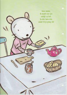 Ontbijt voor mama!