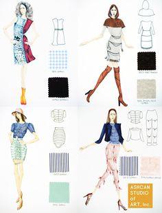 parsons fashion design portfolio examples google search