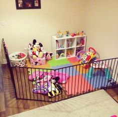45 Trendy Diy Baby Gate Play Areas Types of Glass for Shower Doors Glass makers Living Room Playroom, Baby Playroom, Baby Room, Kids Room, Dining Room, Baby Gate Play Area, Baby Play Areas, Diy Baby Gate, Baby Gates