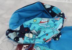 Schals - *sweet shark* Schlauchschals / Loop - ein Designerstück von kasuess bei DaWanda