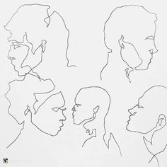 Take a moment to find out more about featured artist  @christinerossart at www.goodartguide.com . . . A random assortment of faces  #christinerossart #continuousline #sketch #facesfromplaces#art #illustration #drawing #draw #picture #artist #sketch #sketchbook #paper #pen #pencil #artsy #instaart #beautiful #instagood #gallery #masterpiece #creative #photooftheday #instaartist  #graphics #artoftheday