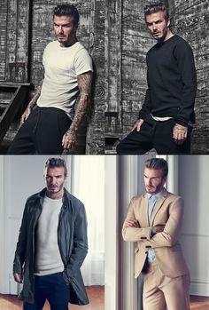 David Beckham X H&M Bodywear and Modern Classics