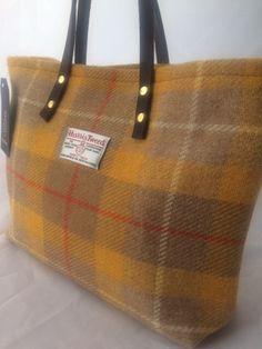 991039bbb9a5 Harris tweed tote bag purse handbag tartan purse gift for her womans gift  girlfriend gift Scottish